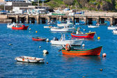 Old Pier with Boats at Sagres, Portugal — Stock Photo