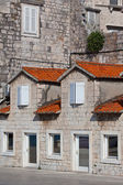 Stone Buildings of Trogir, Croatia — Stockfoto