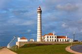 Lighthouse Leca, Matosinhos, Porto district, Portugal — Stock Photo