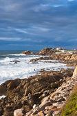 Western Portugal Ocean Coastline near Porto — Stockfoto