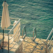 Ladder to the Sea — Stock Photo
