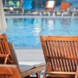 Hotel Poolside Chairs — Stock Photo #42909029