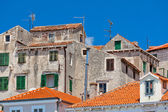 Old Stone Buildings of Sibenik, Croatia — Stock Photo