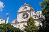 Catedral de st. james en sibenik, croacia — Foto de Stock