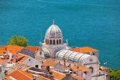 Cattedrale di san giacomo a sibenik, croazia — Foto Stock