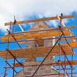 Church Restoration Scaffolding — Stock Photo #43912095