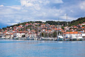 Trogir, Croatia Marina view — Stock Photo