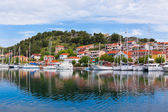 Skradin is a small historic town in Croatia — Foto Stock