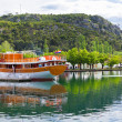 Touristic boat in Skradin, Croatia — Stock Photo
