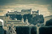 Hohensalzburg Castle in Salzburg, Austria — Stock Photo