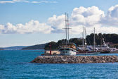 Croatian Marina view — Stock Photo
