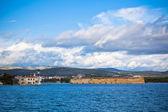 Sibenik bay, Croatia view — Foto Stock