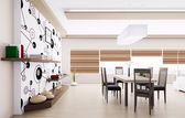 Interior of modern dining room — Stock Photo
