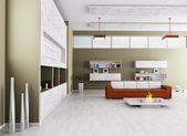 Interior de la sala de estar moderna — Foto de Stock