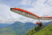 FIESH, SWITZERLAND - JULY 2: Competitor Artem Chervonenko from Ukraine take — Stock Photo