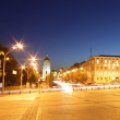 Panoramic view of Sofia square in Kyiv — Stock Photo