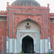 Panorama of Humayuns Tomb taken in Delhi - India — Stock Photo #12848672