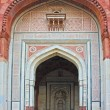 Panorama of Humayuns Tomb taken in Delhi - India — Stock Photo #12848676