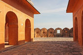 The Jaigarh Fort near Jaipur is one of the most spectacular forts in India — Stock Photo