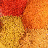 Various spices close up — Stock Photo