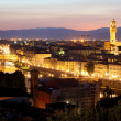 Royalty-Free Stock Photo: Florence (Firenze) skyline with Palazzo Vecchio and Duomo , Tuscany, Italy