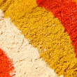Various colourful spices of india close up background — Stock Photo #12905770