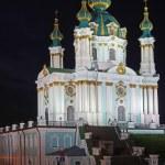 St Andrew's Church, Kiev — Stock Photo #13145550