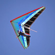 Hang gliding in Crimea — Stock Photo