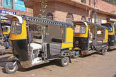 Rickshaw, the most popular transport of India — Stock Photo