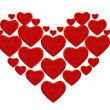 Stickers of the hearts — Stock Photo #13435763