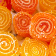 Colorful fruit sugary candies close-up — Stock Photo #13450442
