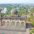 Stock Photo: Golgumbaz, Mughal mausoleum in Bijapur , Karnataka, India