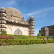 Golgumbaz, a Mughal mausoleum in Bijapur , Karnataka, India - Stock Photo