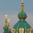 Beautiful St. Andrew's Cathedral in Kiev — Stock Photo #13617230