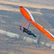Hang gliding iin Crimea — Stock Photo