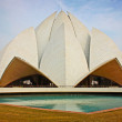 Delhi - Lotus Temple — Stock Photo