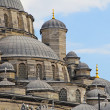 Stock Photo: A view of the Mosque in the turkish city of Istanbul