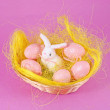 Easter objects — Stock Photo
