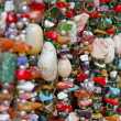 Lot of colored beads — Stock Photo