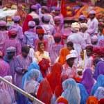 Holi celebration — Stock Photo