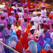 Holi celebration - Stock Photo