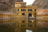 Galtaji Temple is the Monkey Palace, — Stock Photo