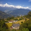 Himalayas view, Annapurna Area — Stock Photo