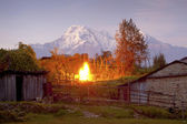 Nepal village — Stock Photo