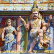 Chola kings architecture at a south indian temple — Stock Photo
