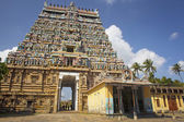 Architecture at finest in the Chidambaram temple — Stock Photo