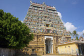 Architecture at finest in the Chidambaram temple — Zdjęcie stockowe