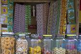 典型的なパンやパーンの市場 — ストック写真