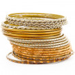 Indian bracelets - Stock Photo