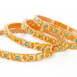 Indian bracelets - Stock fotografie